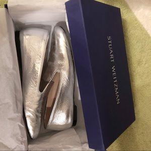 Stuart Weitzman Women's MYGUY Loafer Flat